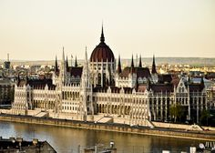 Parliament of Hungary - the 3rd largest parliament building in the world #Hungary #architecture #Europe