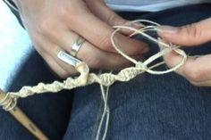 how to macrame bracelet