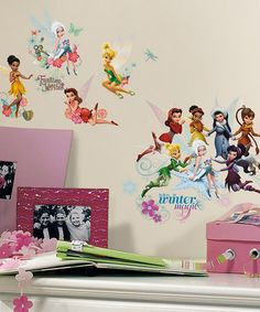 Secret of the Wings Wall Decal Set