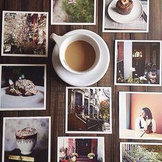Coffee and photos.