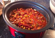 Chilli Con Carne – Slow Cooker Slimming World Stretford (Manchester) Slow Cooker Slimming World, Slimming World Dinners, Slimming World Diet, Slimming World Recipes, Slow Cooker Chilli, Healthy Slow Cooker, Healthy Eating Recipes, Cooking Recipes, Crockpot Recipes
