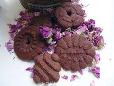 Sablés au chocolat à la presse à biscuits