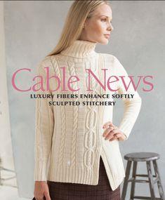 Модный свитер Asimmetrical с описанием и схемой от Норы Гоган из журнала Vogue.