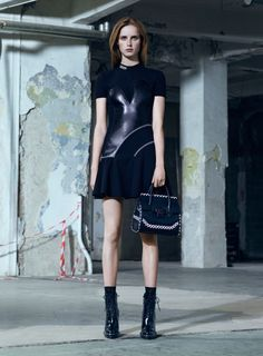 Rianne van Rompaey for Versace Pre-Fall 2016 | See more fashion at styleisviral.com