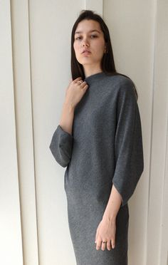Anaïse | Chalayan Drapey Boatneck Dress
