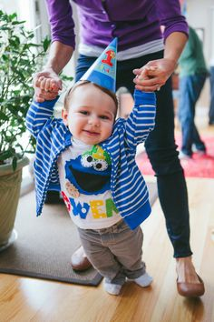 Owens 1st Birthday: Cookie Monster birthday boy outfit :) Photo By Ashley DaCruz Photography