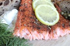 Cider Hot Smoked Salmon
