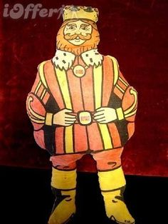 1970's Vintage Burger King Stuffed Toy. I had this! My mom got me one at the Burger King on South Hamilton Road! :^)