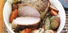 Provençal Roasted Pork