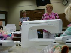 Our teachers were experienced members of our group who volunteered to share many tips, as well as guide us in the best use of our personal sewing machines.  I gathered many of their tips at www.HamiltonSewingChallenge@blogspot.com
