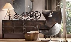 Looking inspiration about steampunk bedroom ideas for your home? There are many steampunk wall decor for your bedroom to be set to steampunk themed.
