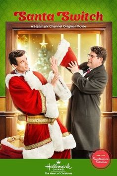 I am watching #SantaSwitch  #HallmarkChannel #TheHeartofChristmas #Christmas