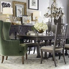 Bassett Furniture Rectangular Dining Table. Unfortunately, this is not a set. Chairs are sold separately to maximize profits.