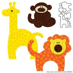 animal applique patterns