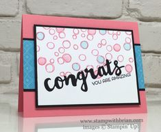 Playful Backgounds, Sunshine Wishes Thinlits, Cottage Greetings, Stampin' Up! Stampin Up Catalog, Scrapbook Cards, Scrapbooking, Stamp Making, Congratulations Card, Craft Organization, Baby Cards, Stampin Up Cards, I Card