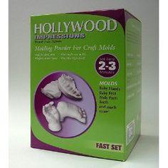 Hollywood Impressions Molding Powder for Craft Molds (Dental Grade Alginate) $19.95