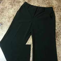 Black catos dress pants size10 p Like new. Catos black dress pants size 10p. Cuffed bottom (pic2). 61% polyester. Super comfy. Cato Pants Trousers