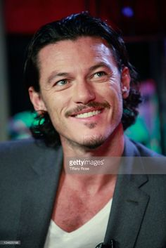 Actor Luke Evans visits the Young Hollywood Studio on October 1, 2010 in Los Angeles, California.