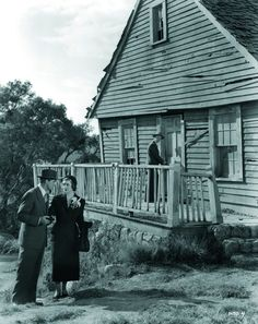 """Cary Grant and Myrna Loy in """"Mr. Blandings Builds His Dream House"""""""