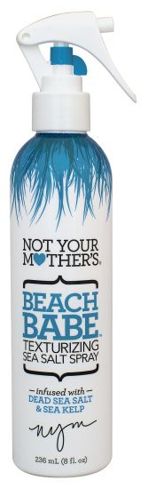Not Your Mother's Beach Babe Texturizing Spray: It's infused with sea kelp and salt from the Dead Sea, making it the real deal. Not Your Mother's Texturizing Sea Salt Spray - See more at: http://dailycatch.coastalliving.com/2015/06/18/salt-sprays-for-beachy-locks/?crlt.pid=camp.wwsaWj69JXpP#sthash.gMGyIP9v.dpuf