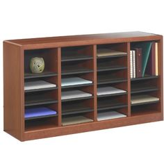 Safco Products E-Z Store Literature Organizer Size: 24 Sections