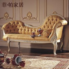 Wholesale cheap classical furniture online, antique - Find best hot selling classical furniture for home,baroque royalty leaf gilding chaise lounge free shipping at discount prices from Chinese living room furniture supplier on DHgate.com.