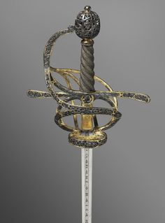 Rapier Made in Solingen, Germany, Europe c. 1590-1610