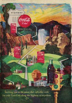 1950's Coca Cola Coke Ad