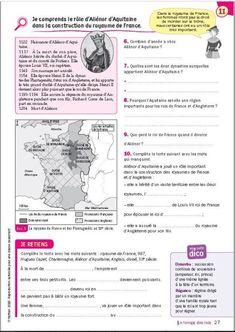 Life Map, Cycle 3, Geo, Collection, Elementary Schools, Balance Sheet, Homework, Children