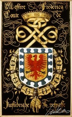 Armorial plates from the Order of the Golden Fleece   Friedrich, Count of Fürstenberg