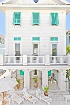 Coastal style home exterior - LOVE it!