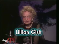 Lillian Gish Accepts the AFI Life Achievement Award in 1984 Massillon Ohio, Lillian Gish, Stark County, Acceptance Speech, Thing 1 Thing 2, The Past, Awards, Sisters, Memories