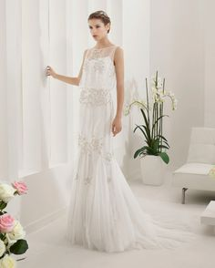 Alma Novia Palas 8B209, $1,700 Size: 6 | New (Un-Altered) Wedding Dresses