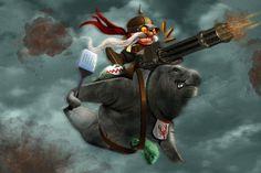 RLL: Urf Rider Corki by StevenLefcourt, via Flickr
