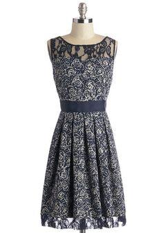 BB Dakota Soirée Stunner Dress in Abstract Garden | Mod Retro Vintage Dresses | ModCloth.com