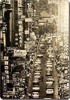 İstanbul, Taksim, Beyoğlu 1970'ler