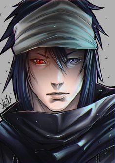 goodbye! Naruto! by Bakushade.deviantart.com on @deviantART | Adult Sasuke