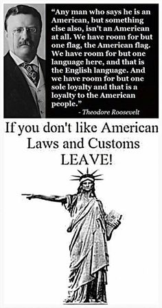 Yes, please leave if you refuse to assimilate. In coming to America, don't come expecting that laws should have to confirm to you, your beliefs or religious practices ~@guntotingkafir