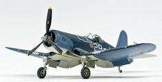 Otaki/Arii 1/48 F4U-1A Corsair VF-17, Built by Drew
