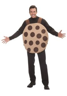 All this adult cookie costume is missing is a glass of milk! Wear this funny costume and you can find out what it's like to be an irresistible treat!