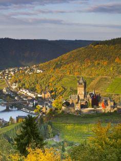 Cochem Castle, Cochem, Rhineland / Mosel Valley, Germany  by Doug Pearson