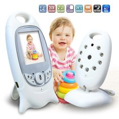 2 inch baby monitor support 2 way-talk ,Temperature monitoring and Feeding Time Reminder Music babysitter Intercom Home Security  Price: $ 78.99 & FREE Shipping   #computers #shopping #electronics #home #garden #LED #mobiles