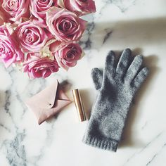 Classic Cashmere Gloves for crisp autumn mornings and cold December nights . . . http://classygirl.co