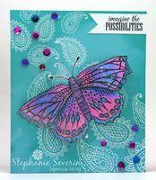 Crafter's Companion: Ingenious Inkling  Stephanie Severin Spectrum Noir Blendable Colored Pencils: 001, 037, 038, 040, 041, 068, 069, 075, 080  081 Sheena's A Little Bit Sketchy True Colors