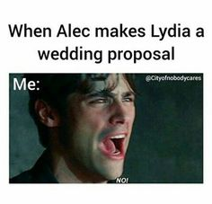 Shadowhunters and The Mortal Instruments - Alec and Lydia