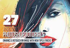 27 New Photoshop Tutorials to Enhance your Photoshop Skills #photomanipulation…