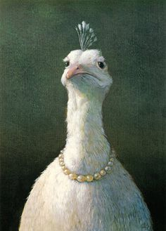 The Frequent Peacock by Michael Sowa