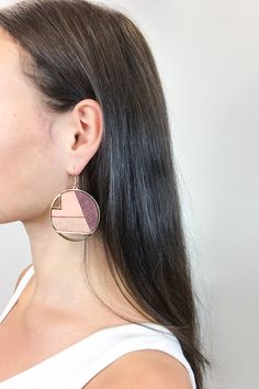 These geometrical boho statement dangling earrings are the statement pieces you need to dress up that Summer 2018 outfit