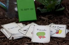 The Garden Deck playing cards by Frausto and Co.