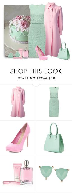 """Colour Contrast"" by malathik ❤ liked on Polyvore featuring Sartoria Italiana Vintage, M&Co, Merona, Lancôme and Lonna & Lilly"